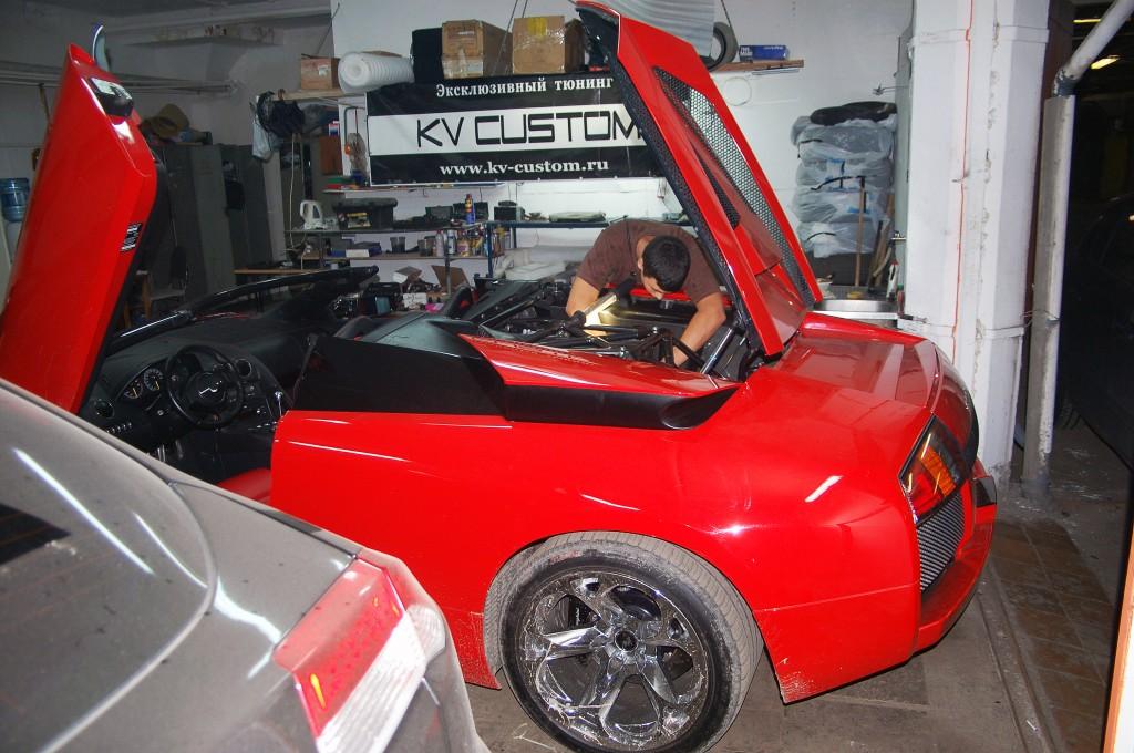 Lamborghini Murcielago в KV CUSTOM