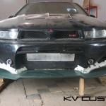 Изготовление накладки и покраска Mitsubishi Galant