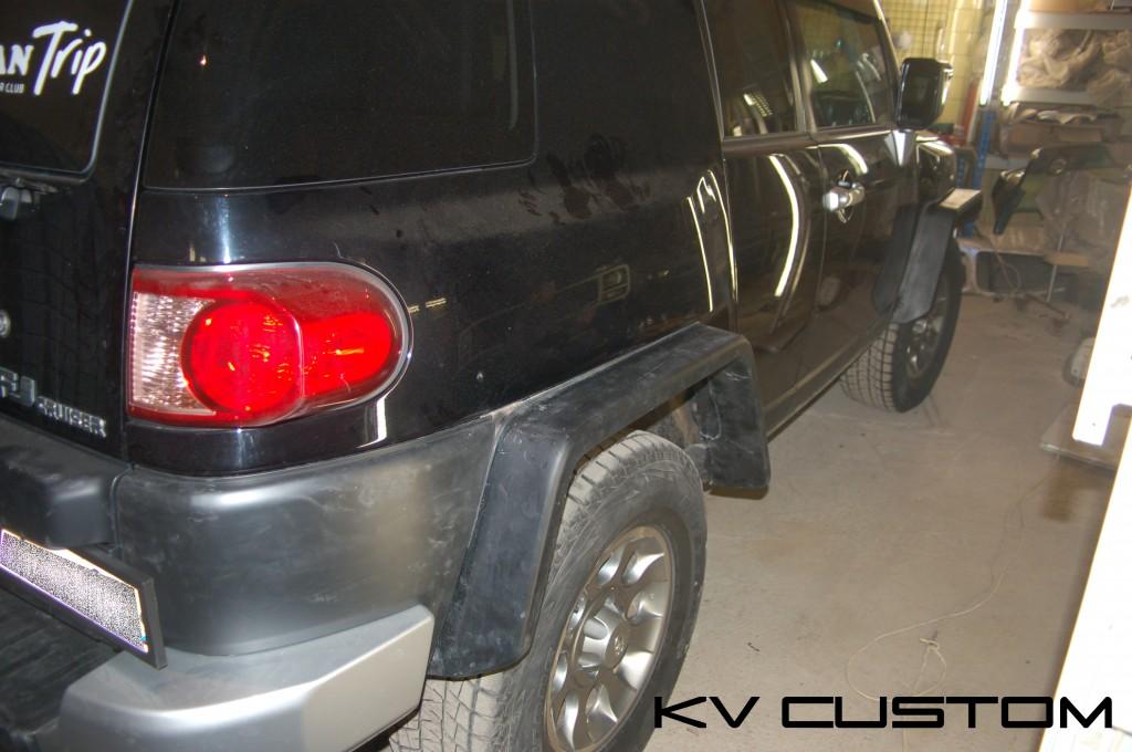 Toyota FJ Cruer 4
