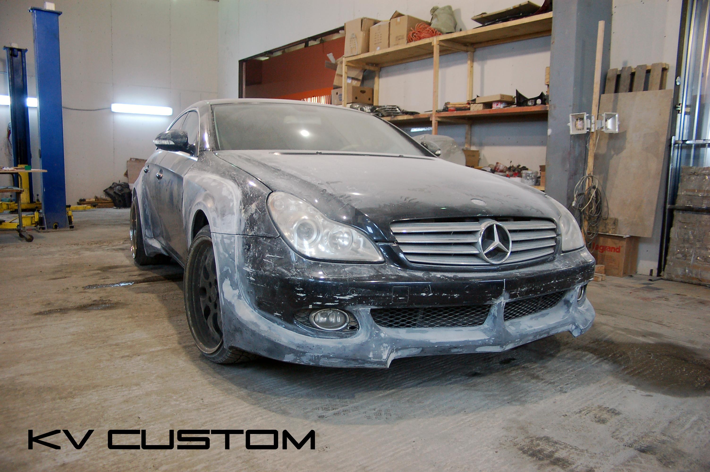 Изготовление обвеса mercedes kv custom - это гарантиЯ каЧест.