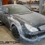 Изготовление обвеса Mercedes