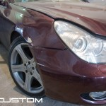 локальная покраска Mercedes-benz CLS