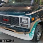 Индивидуальное изготовление губы для GMC Van
