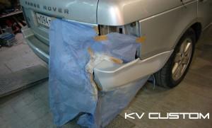 Локальный ремонт Range Rover