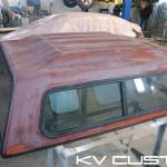 Покраска КУНГ на Dodge RAM