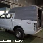Изготовление на КУНГ на Ford Ranger