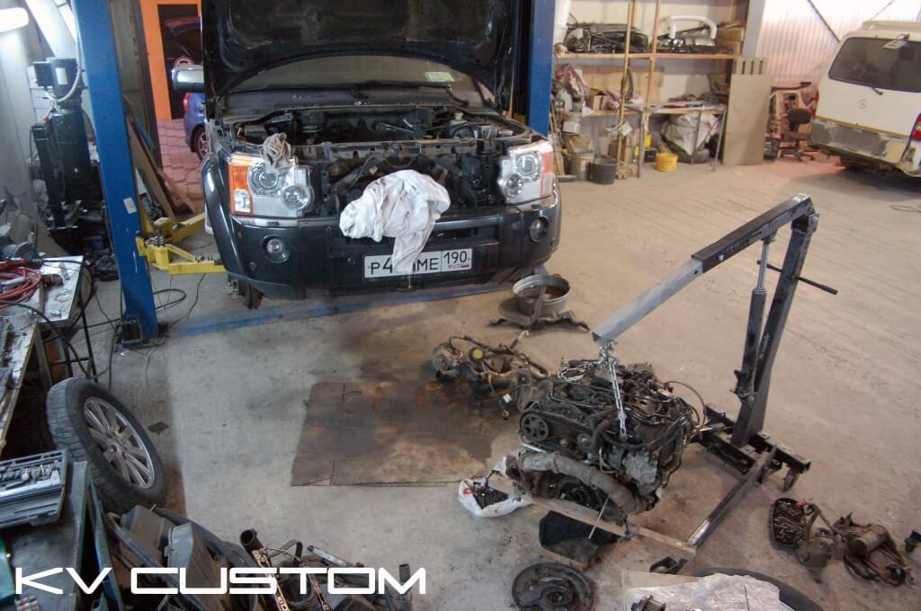 Капитальный ремнот ДВС Land Rover