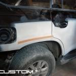 Покраска Toyota Land Cruiser 200