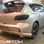 Покраска обвеса на Mazda 3