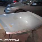 Капот из стеклопластика на Cadillac SRX