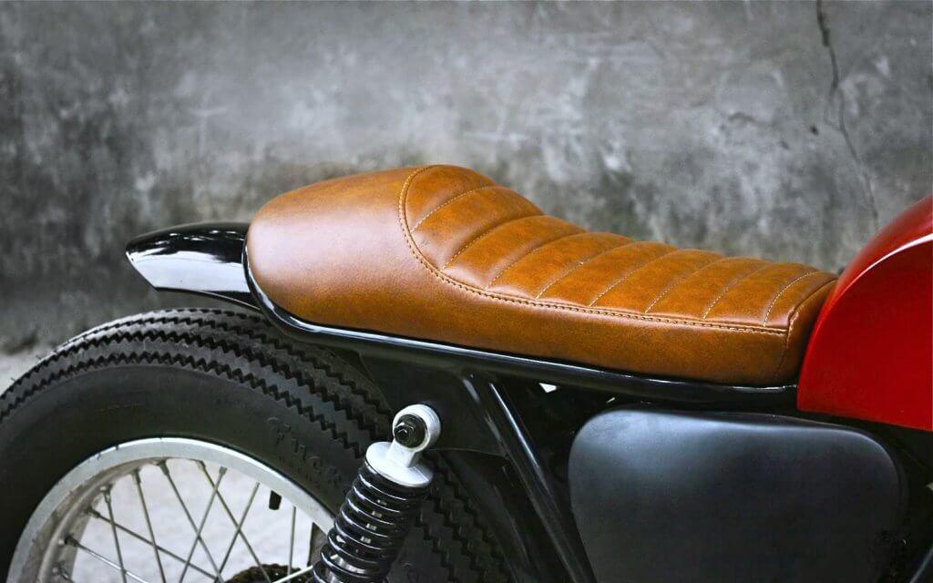 Ремонт сиденья мотоцикла